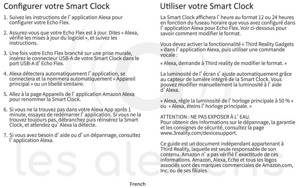Echo Flex Smart Clock : un nouvel accessoire pour Amazon Echo Flex !