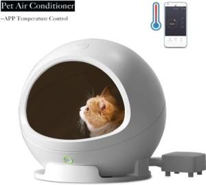 Niche pour petit chien ou chat climatisée