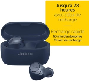 Ecouteurs intra-auriculaires Jabra Elite Active 75t Bluetooth 5.0