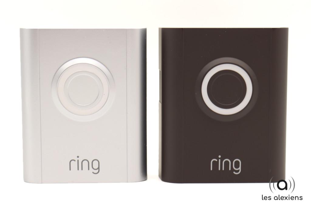 Deux coques sont fournies avec la Ring 3