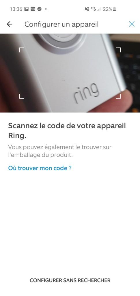 Scannez le QR Code