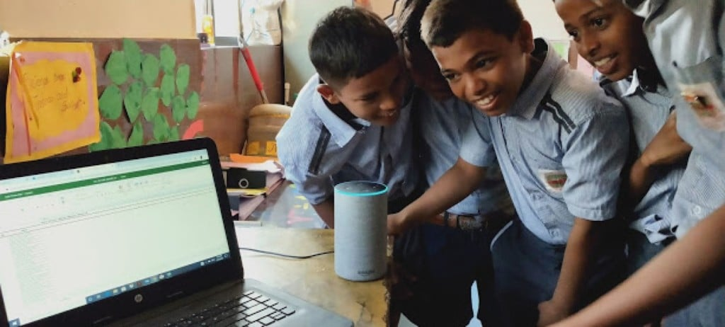Alexa comme outil pédagogique en Inde
