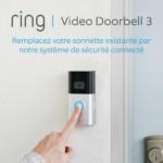 Avis et note Ring 3 : sonnette vidéo compatible Alexa Echo