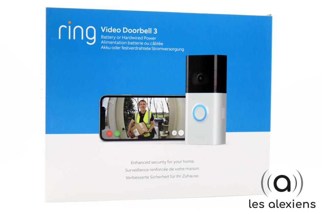 Avis sur la Ring 3 : sonnette vidéo connectée