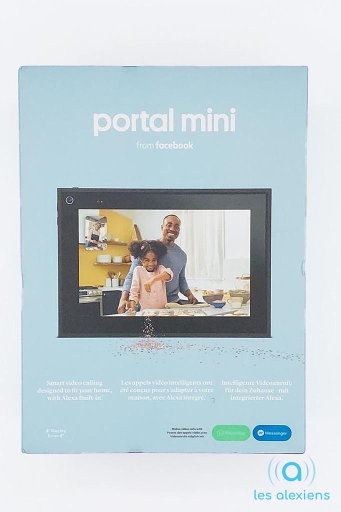 Unboxing du Portal Mini de Facebook