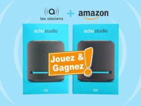Concours : gagnez deux Echo Studio avec Amazon et Les Alexiens !