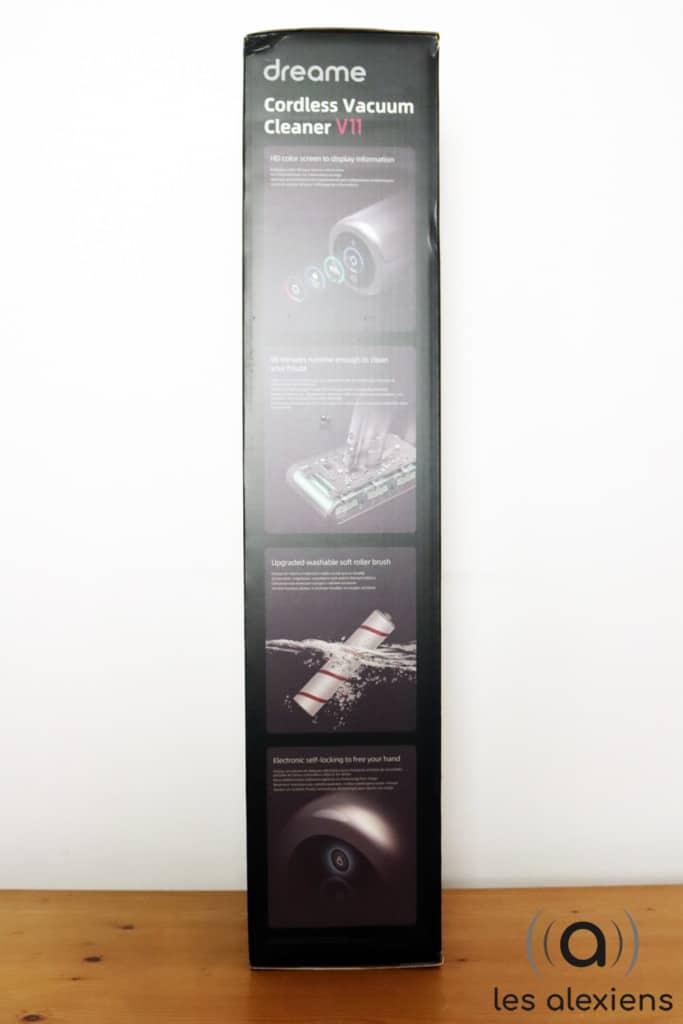 Unboxing du Dreame V11 : notre avis sur l'aspirateur balai