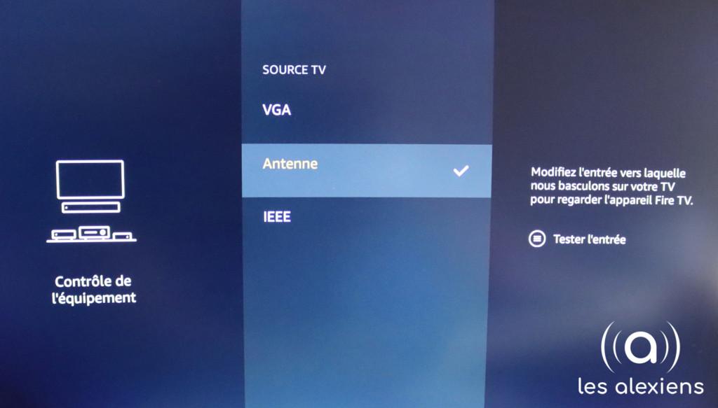 Configurer Antenne TNT hertzien sur Fire TV