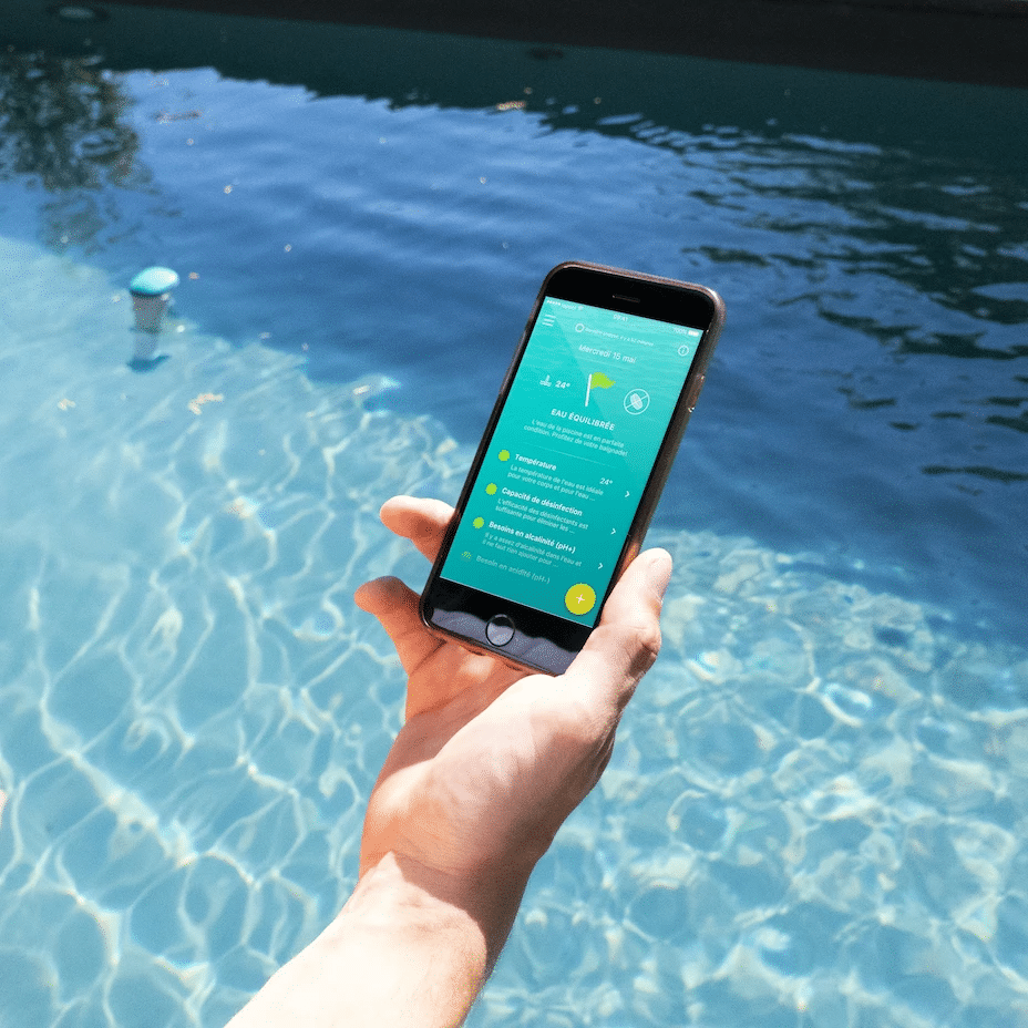 L'application iopool pour sonde de piscine connectée EcO