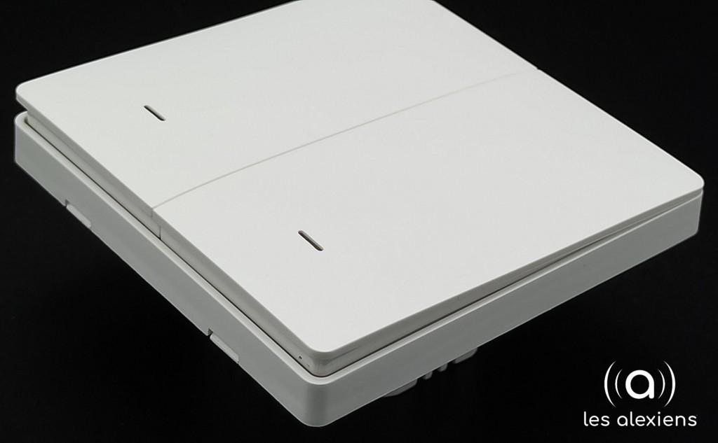 Zemismart AX712A : interrupteur connecté 2 voies sans neutre pour Tuya / Smart Life