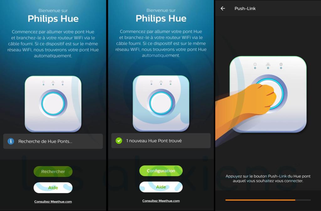 Tutoriel installation Philips Hue