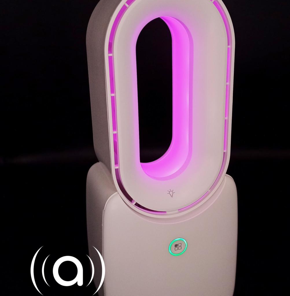 Zemismart : un ventilateur sans pale coloré et connecté