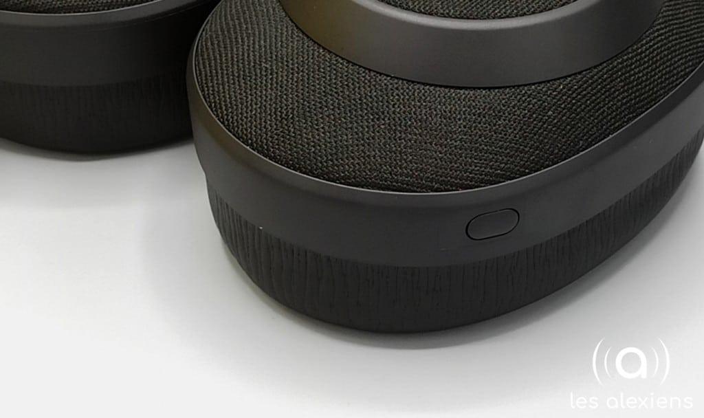 Des boutons bien intégrés