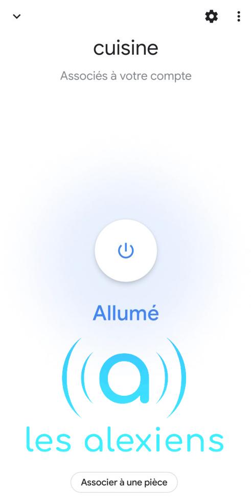 Interrupteur sans neutre dans Google Home