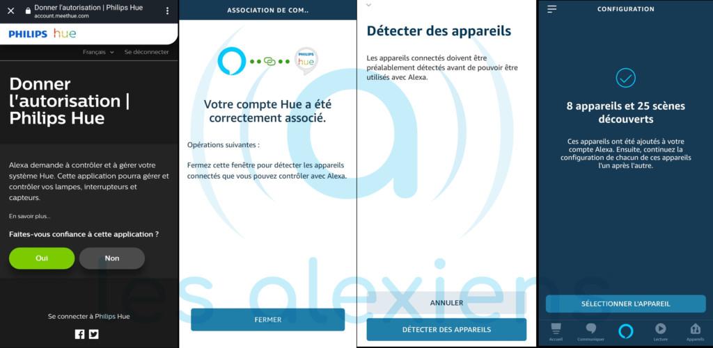 Philips Hue et Amazon Alexa Echo