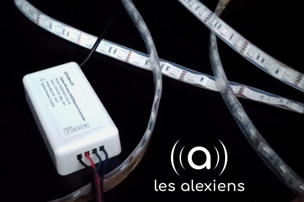 Notre avis sur le ruban LED avec contrôleur ZigBee de Zemismart