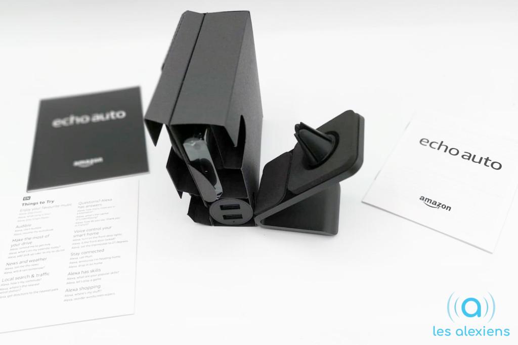 Echo Auto : contenu du packaging