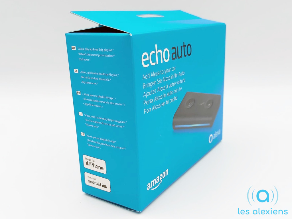 Avis sur Alexa Echo Auto d'Amazon