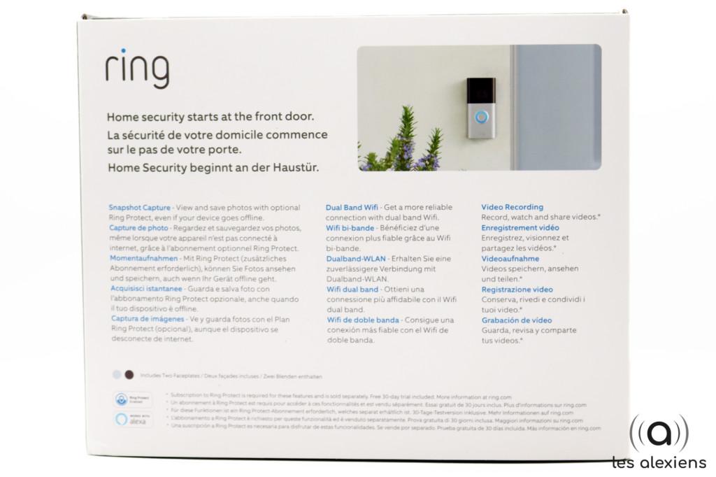 Ring 3 : unboxing et présentation