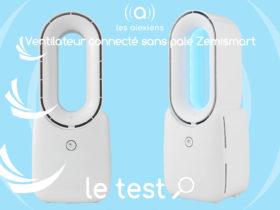 Ventilateur sans pale Zemismart : connecté via Smart Life de Tuya