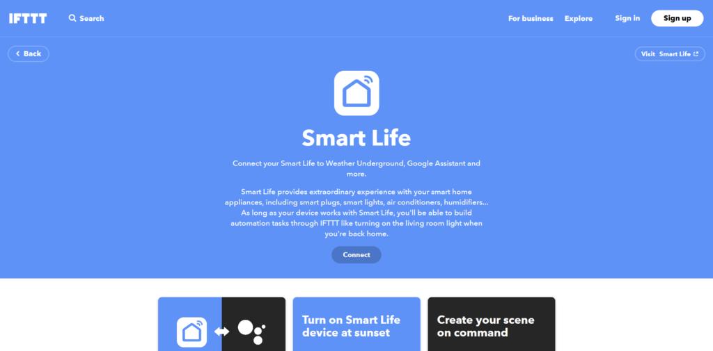 Smart Life et IFTTT à nouveau compatible