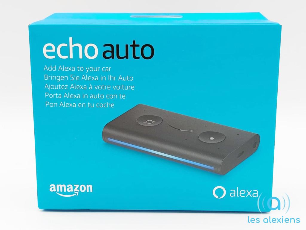 Test Amazon Echo Auto : unboxing et présentation