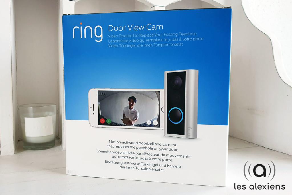 Unboxing Ring Door View Cam : le judas connecté compatible Alexa