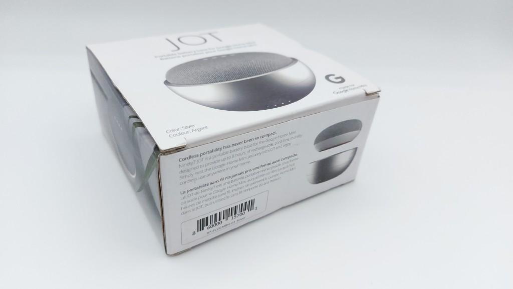 Avis batterie Ninety7 JOT pour Google Nest Mini