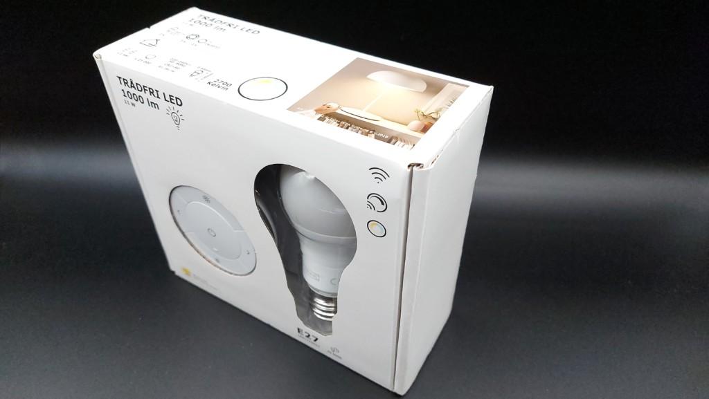 Ampoule connectée E27 Tradfri d'Ikéa compatible avec le pont Philips Hue
