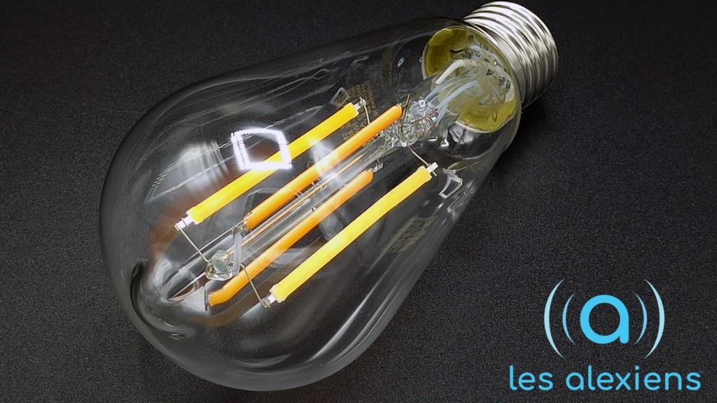 Calex Rutic Lamp : avis et test de l'ampoule connectée disponible chez Leroy Merlin
