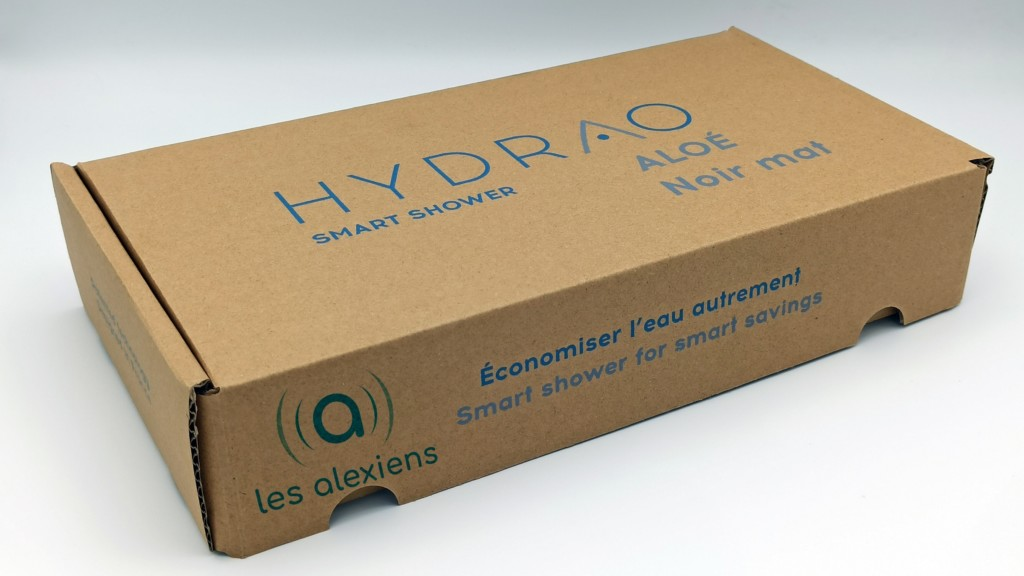 Unboxing Hydrao Aloé
