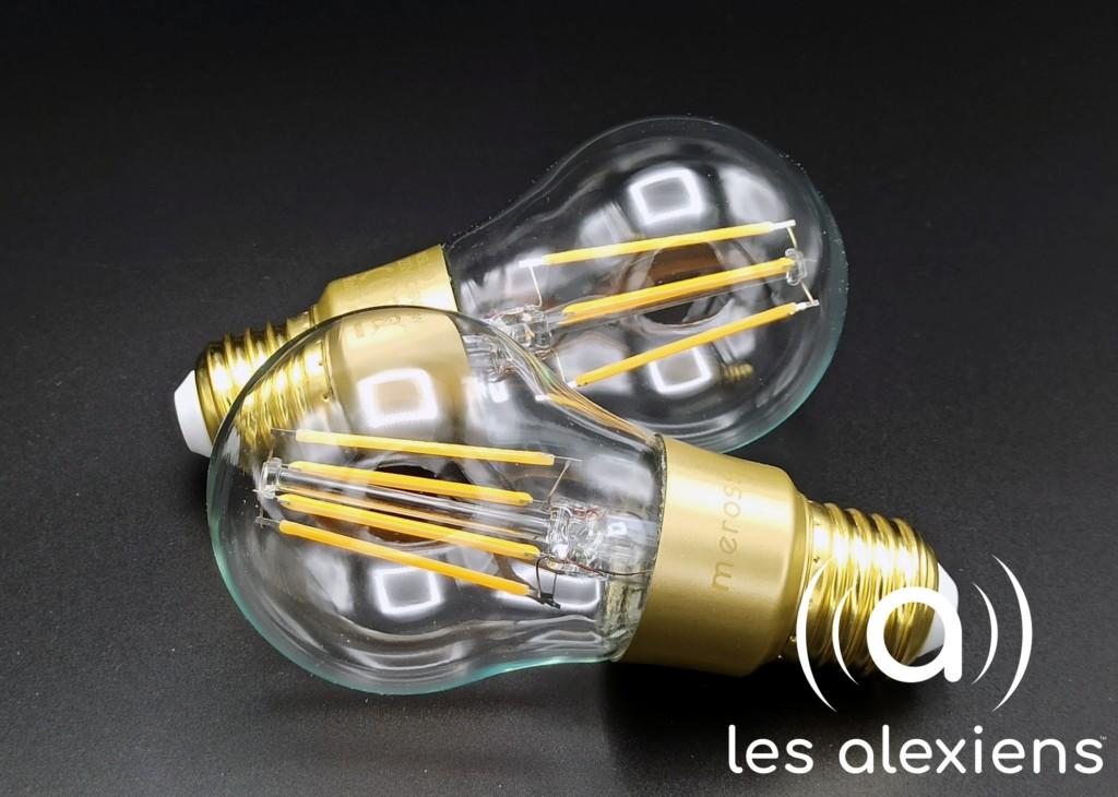 Meross MSL100 : une ampoule connectée vintage type Edison