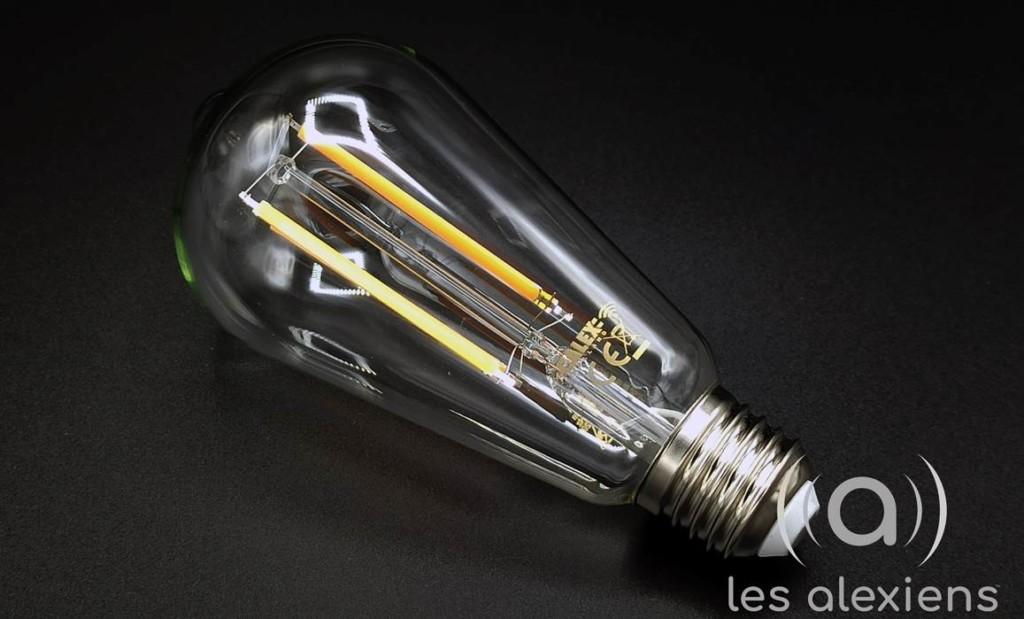 Calex : une ampoule connectée néo-rétro au look vintage
