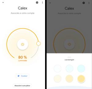 Ampoule Smart Life dans Google Home