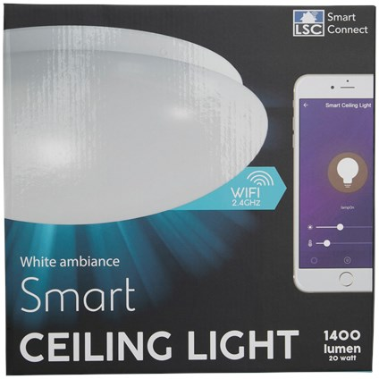 LSC Smart Connect : plafonnier intelligent compatible Tuya / Smart Life