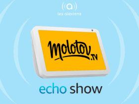 Molotov débarque sur Echo Show !