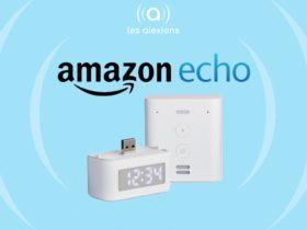 Amazon dévoile une horloge connectée pour Echo Flex