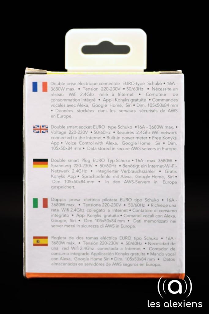 Notice en 5 langues