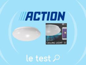 Plafonnier LSC : avis et test complet du luminaire Action.