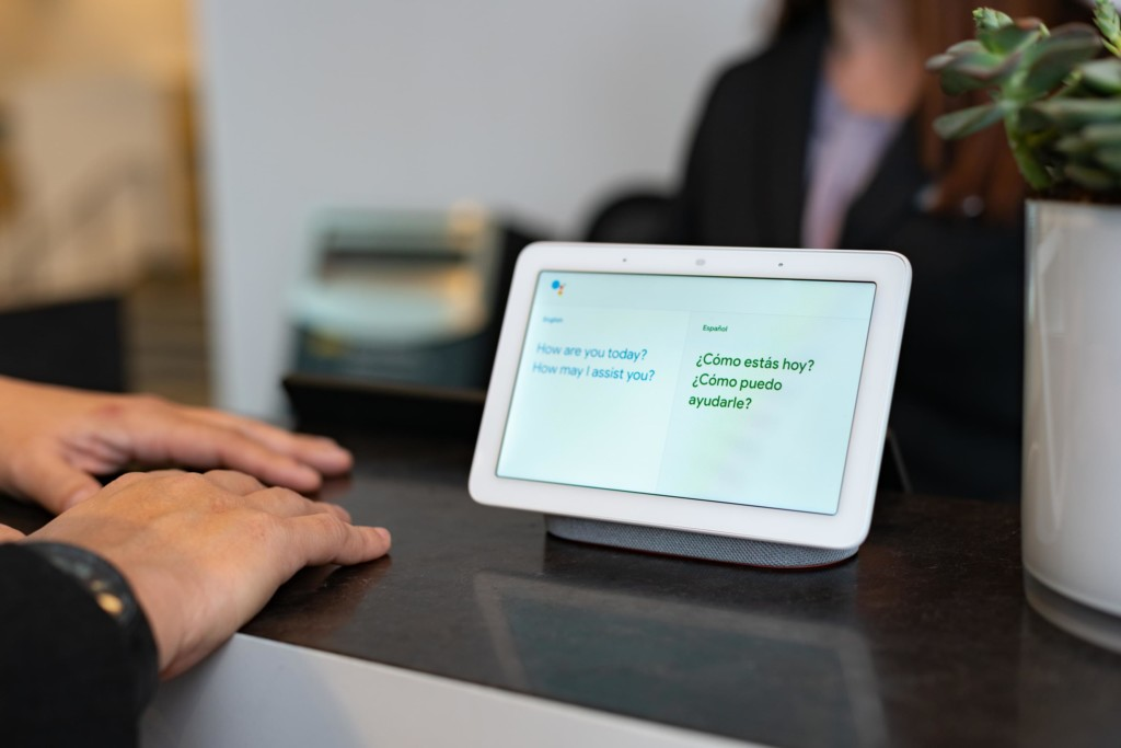 Google Assistant dans les hôtels