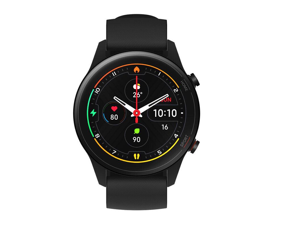 Mi Watch de couleur noire