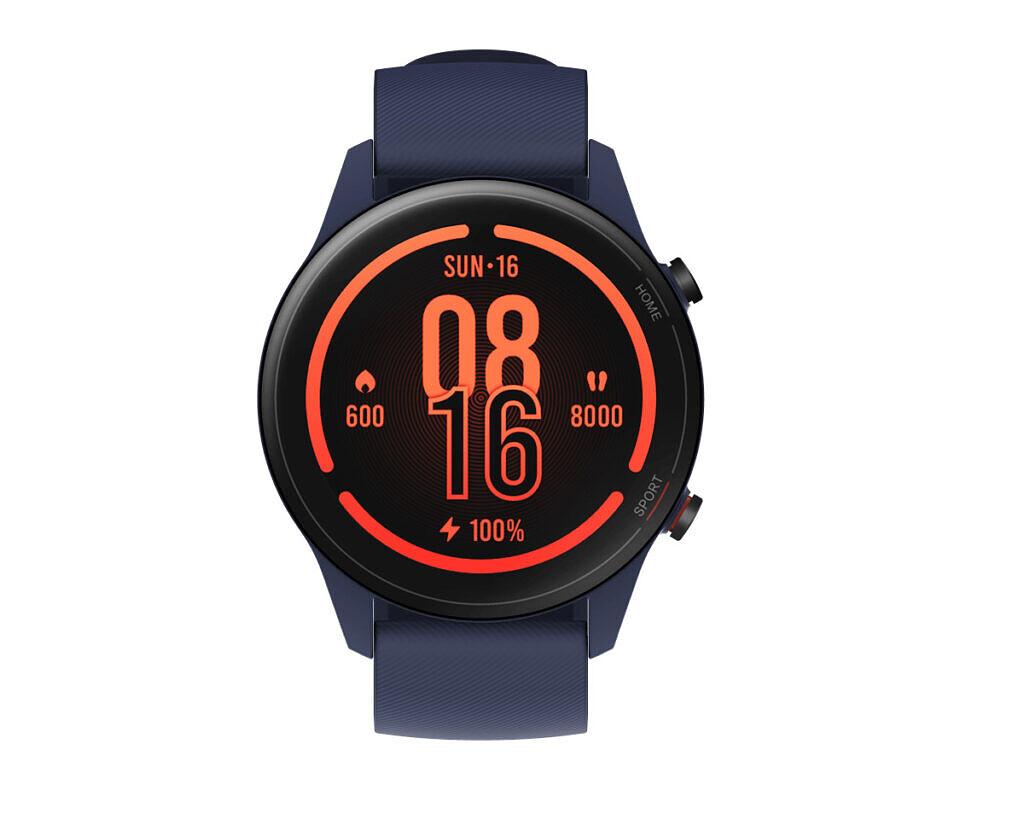 Xiaomi Mi Watch avec Alexa de couleur bleu marine