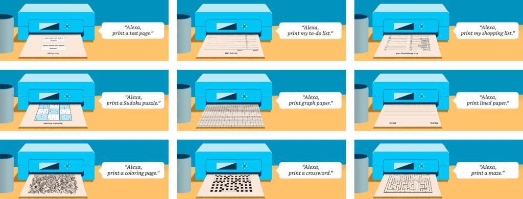 Alexa Print : contrôlez votre imprimante avec Amazon Echo