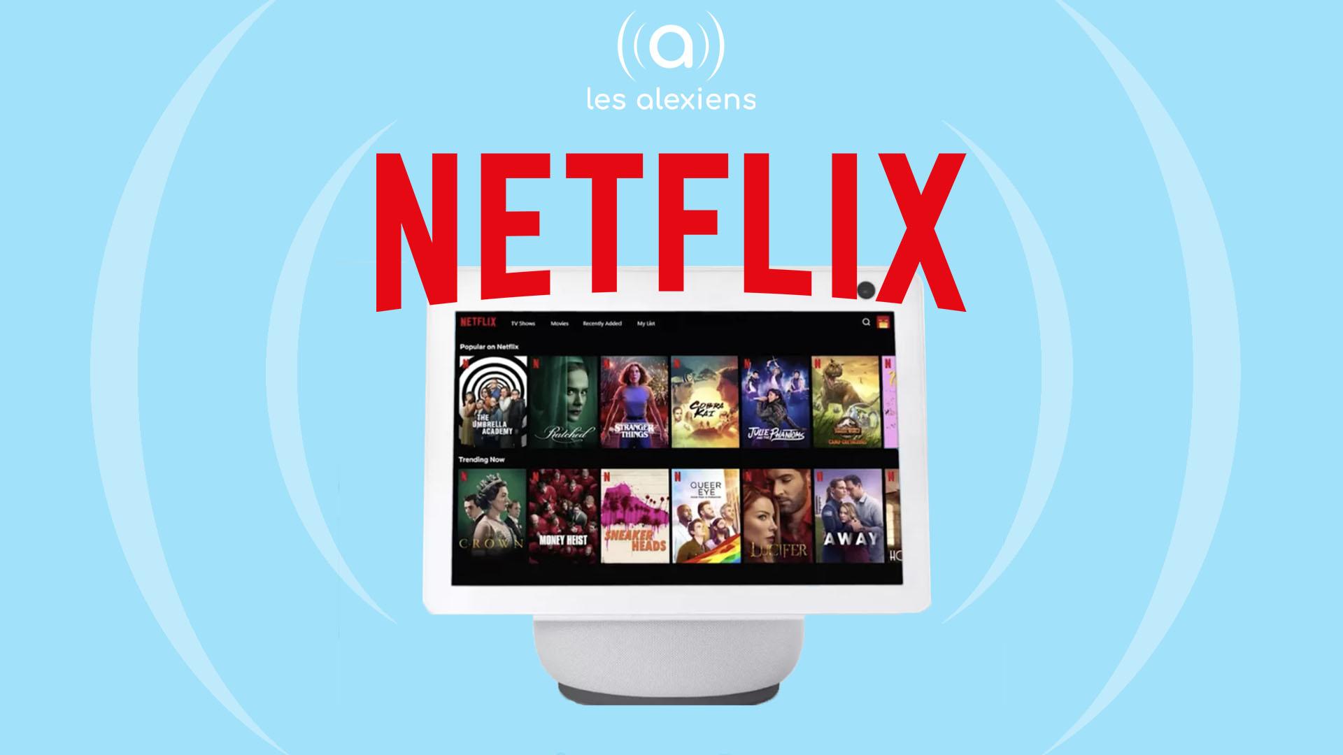 Echo Show Netflix