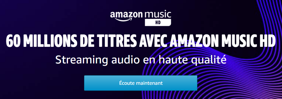 Amazon Music HD : sortie en France du service de streaming HD