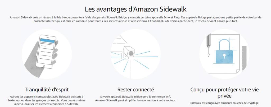 Amazon Sidewalk : c'est quoi? Nos explications sur le réseau partagé.