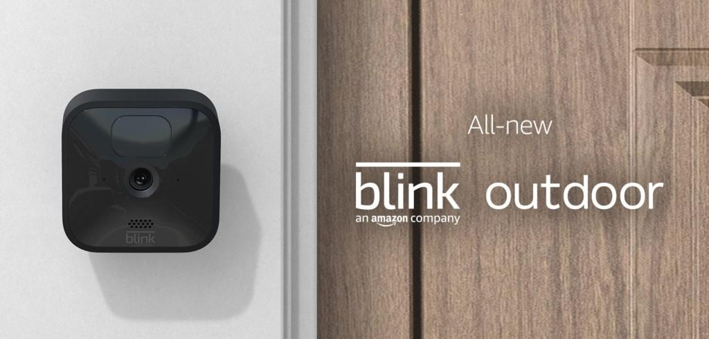 Blink Outdoor : une nouvelle caméra d'extérieur compatible Alexa Echo
