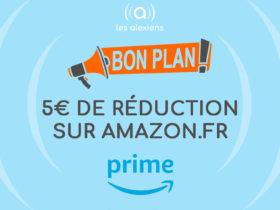 Amazon offre 5€ de réduction à partir de 25 euros d'achat