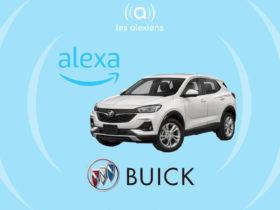 Buick Encore GX : une voiture avec Alexa intégrée