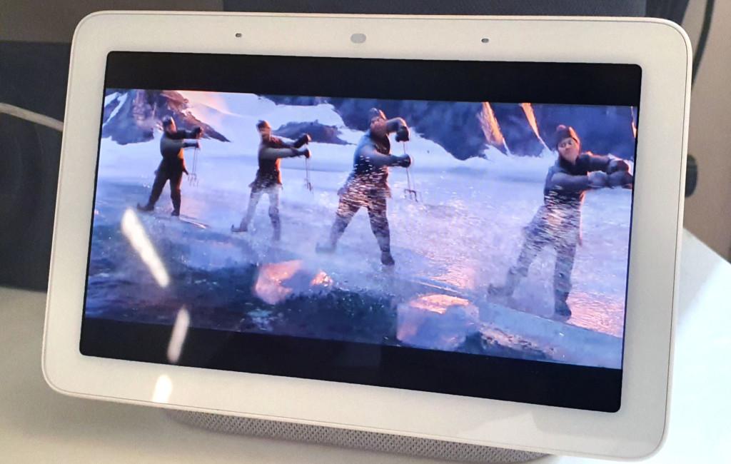 Disney Plus sur Google Nest Hub en France